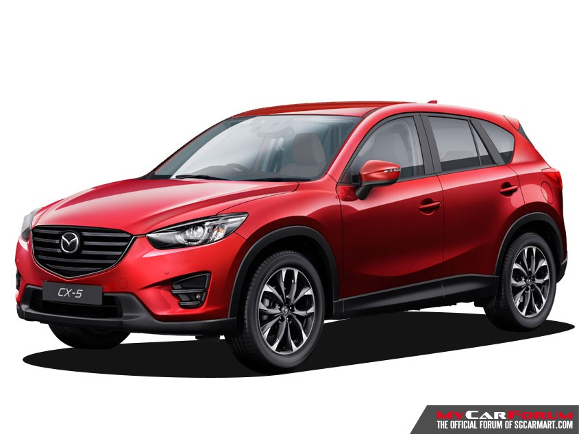 Mazda CX5 (For Rent)