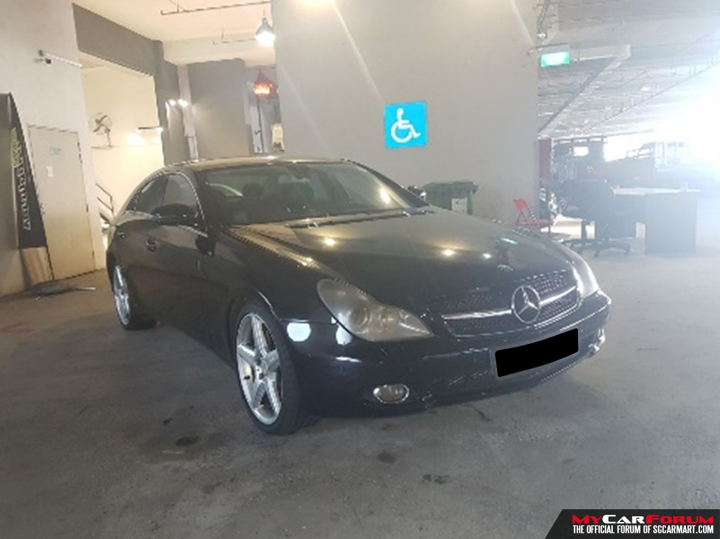 Mercedes-Benz CLS350 A (For Rent)