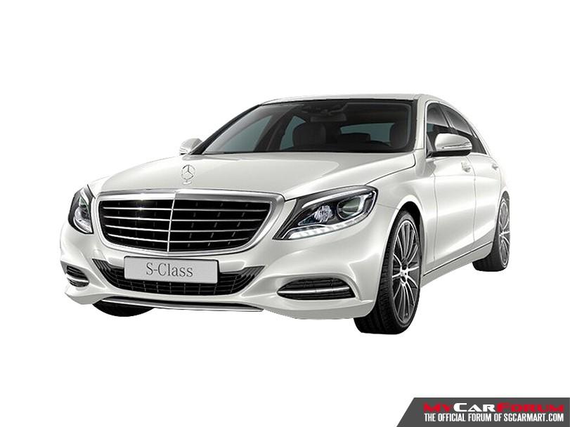 Luxury Sedan Limousine Service (Mercedes Benz S-Class S400)