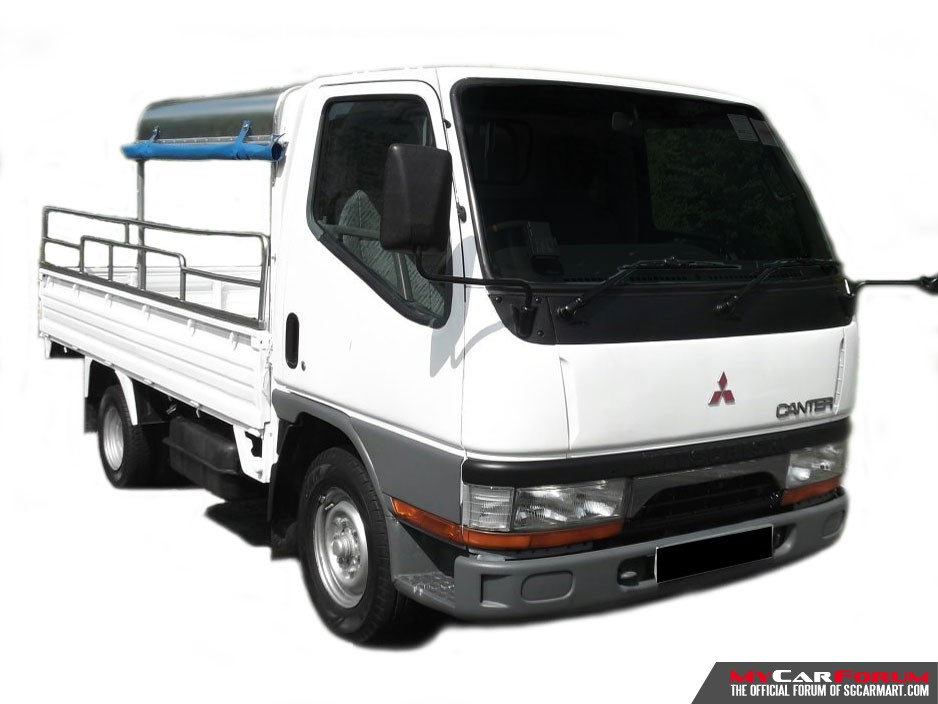 10 FT Mitsubishi FB511 With Canopy (For Rent)