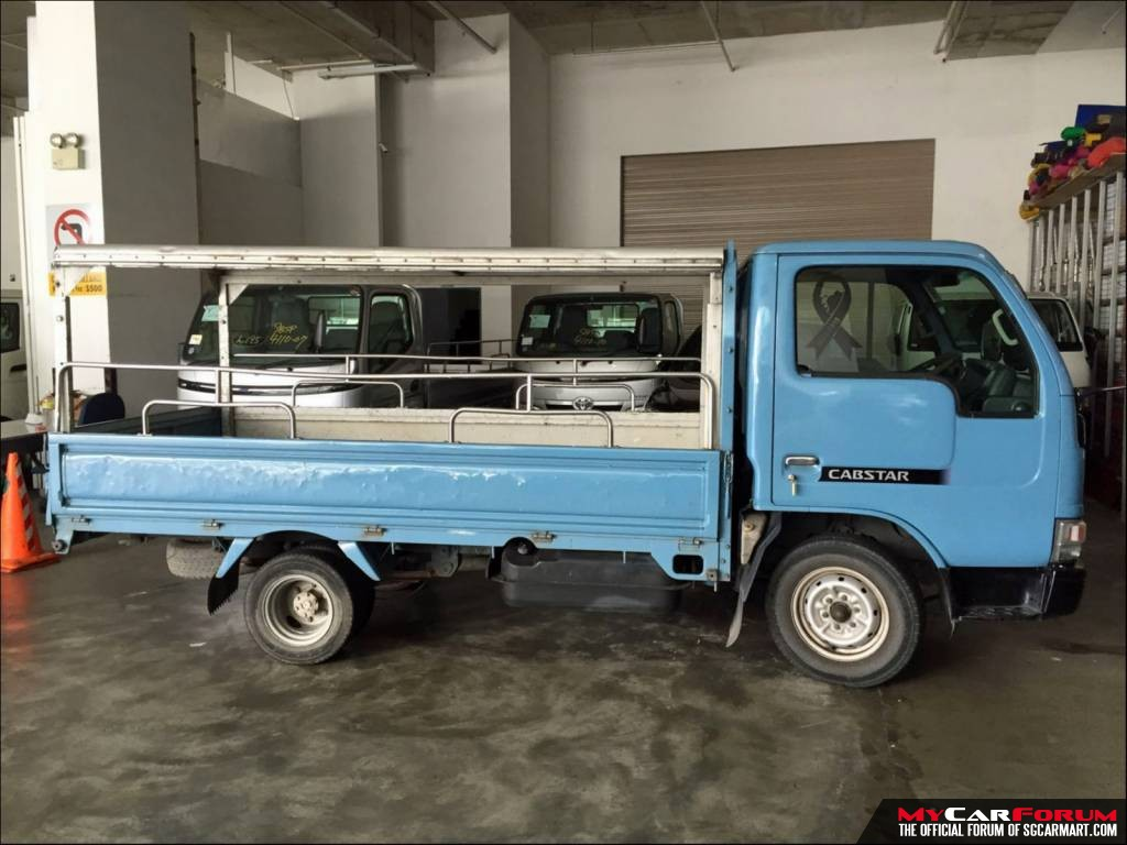 10 FT Nissan Cabstar (For Lease)