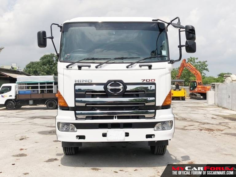 Hino FS1ETMAS-KAS With Crane (For Lease)