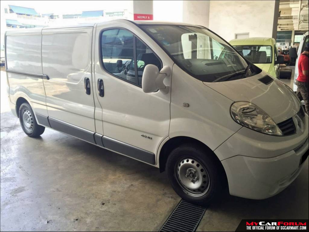 Renault Trafic (For Rent)