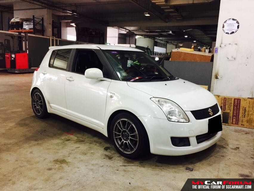 Suzuki Swift 1.5M (For Rent)