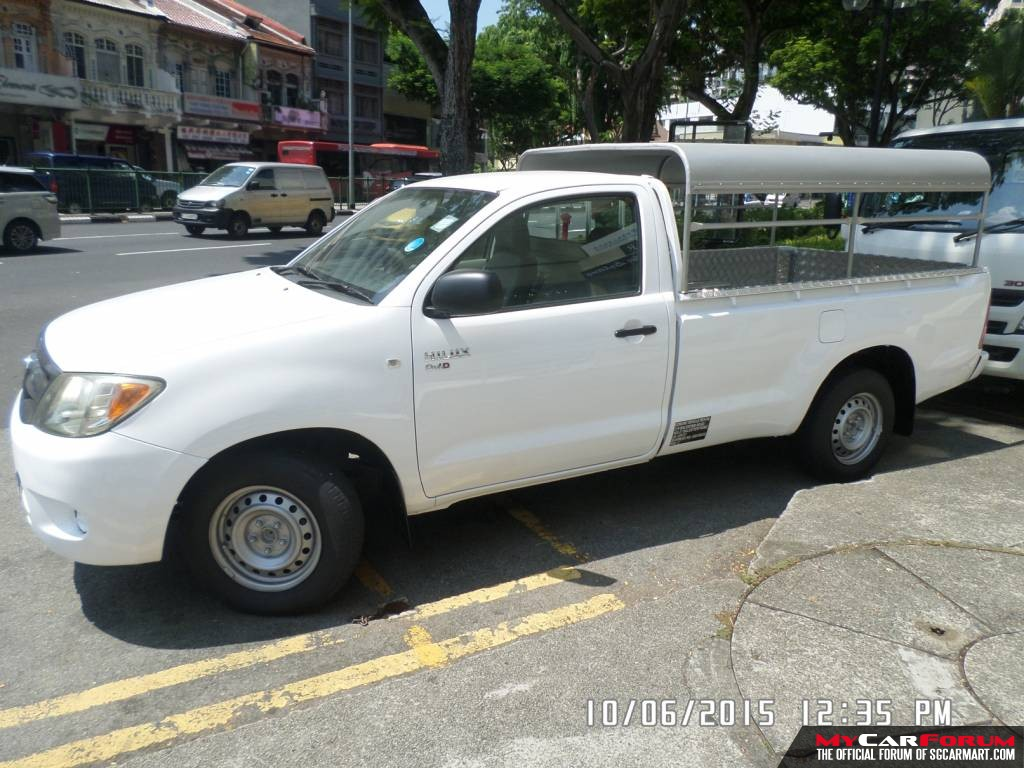 Toyota Hilux with Canopy (For Lease)