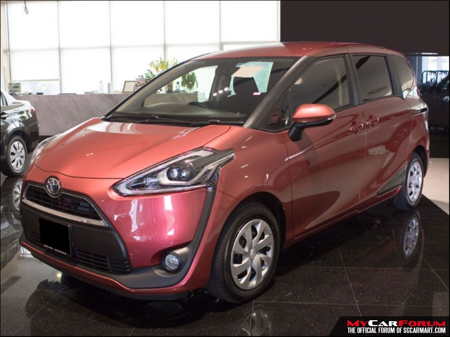 Toyota Sienta (For Rent)