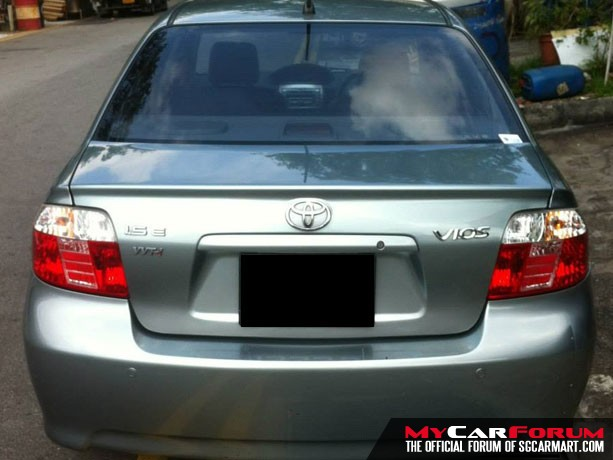 Toyota Vios 1.5A (For Rent)
