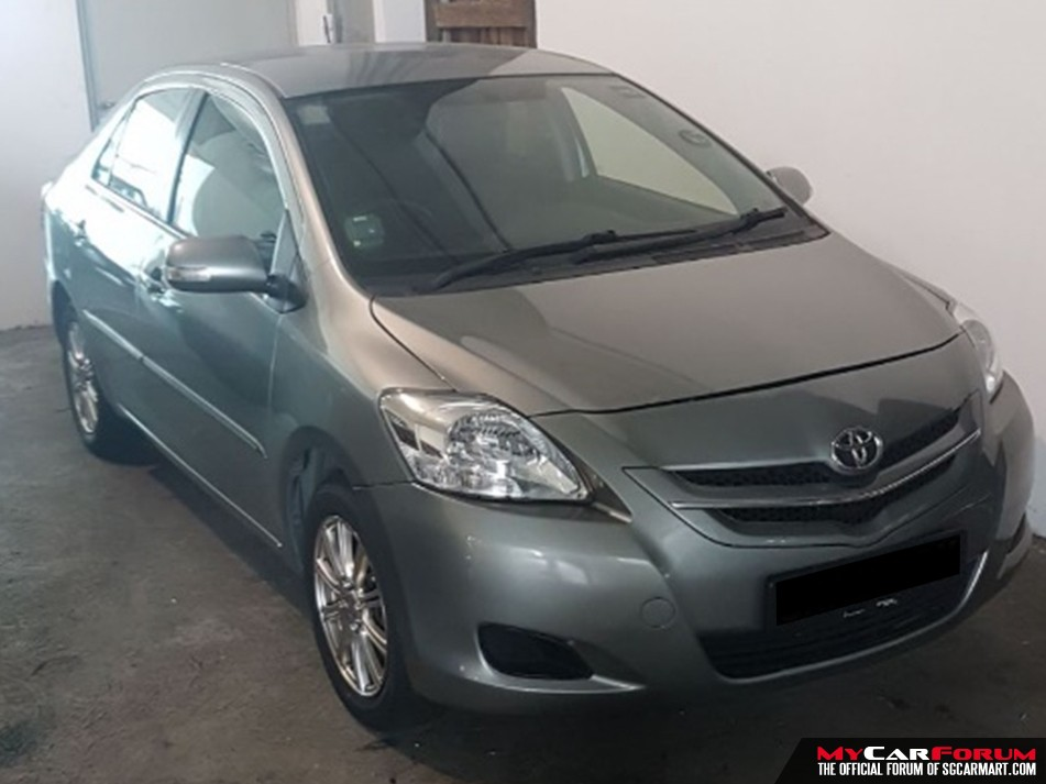Toyota Vios E Auto (For Rent)