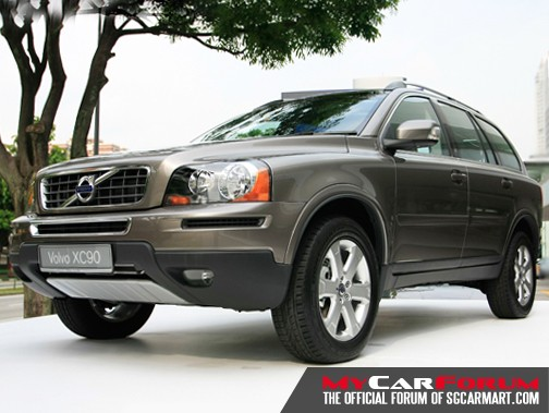 Volvo XC90 (For Rent)