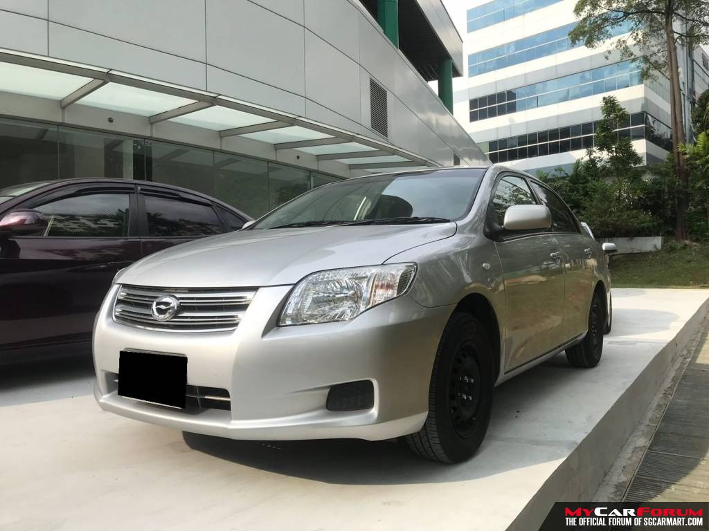 Toyota Axio 1.5A (For Rent)
