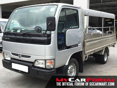 10FT Nissan Cabstar with Canopy (For Rent)
