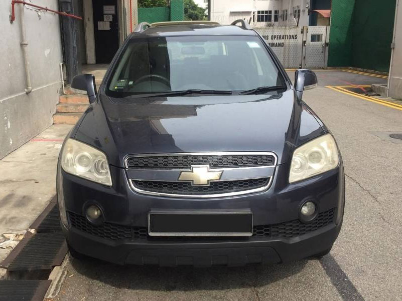 Chevrolet Captiva (For Rent)