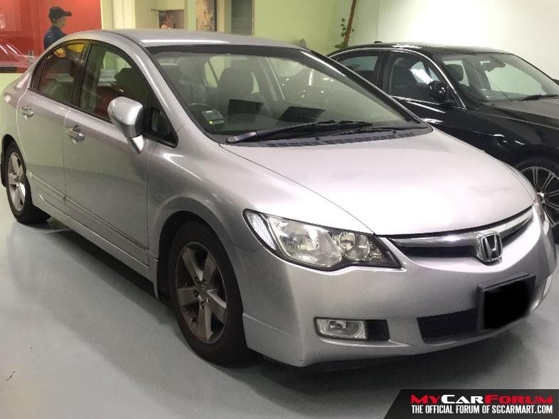 Honda Civic 1.8 (For Rent)