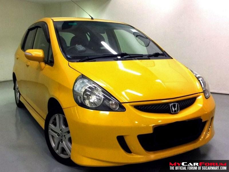 Honda Jazz (For Rent)