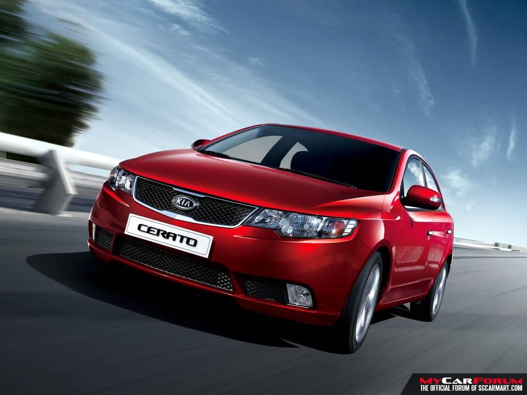 Kia Cerato 1.6 Auto (For Rent)