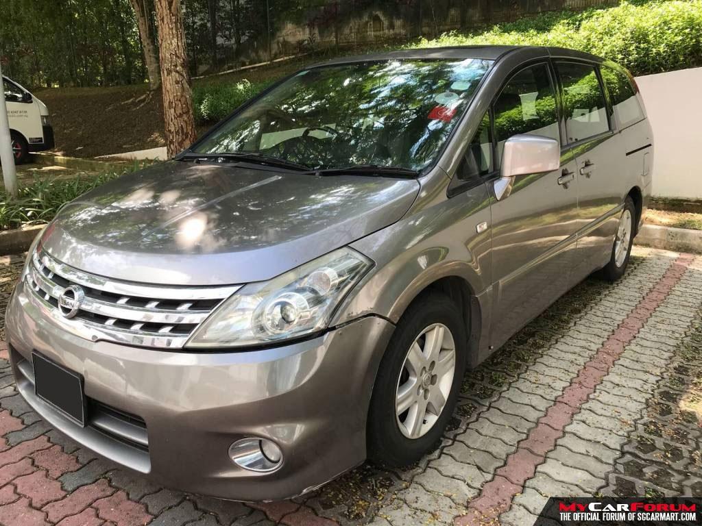 Nissan Presage (For Rent)