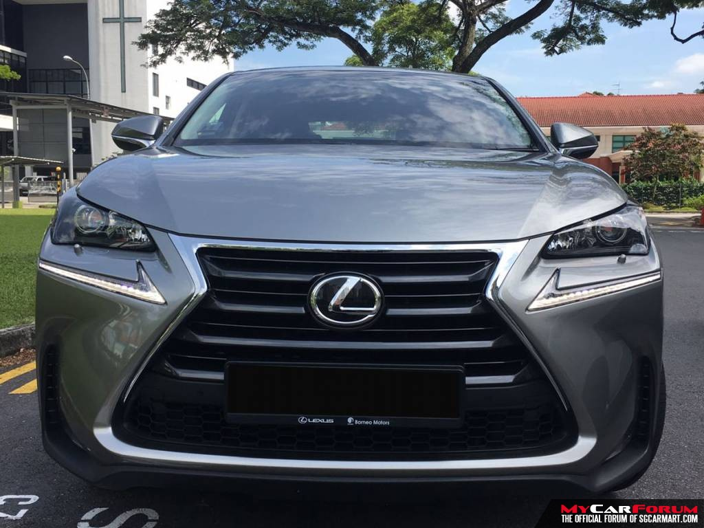 Lexus NX300h 2.5A Luxury (For Lease)