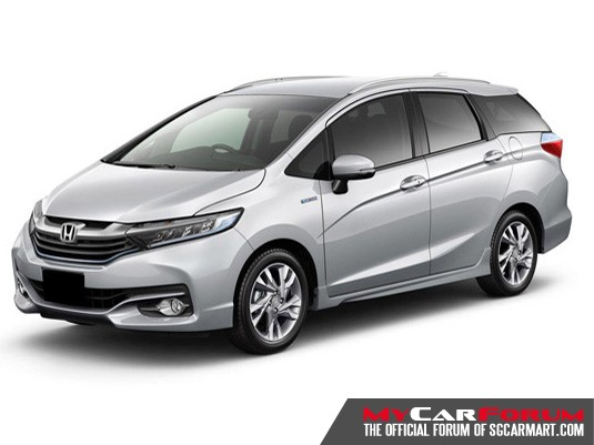 Honda Shuttle (For Lease)