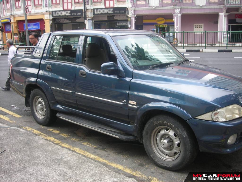 Ssangyong Musso Twin cab (For Rent)