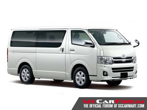 Toyota Hiace Super GL (For Lease)