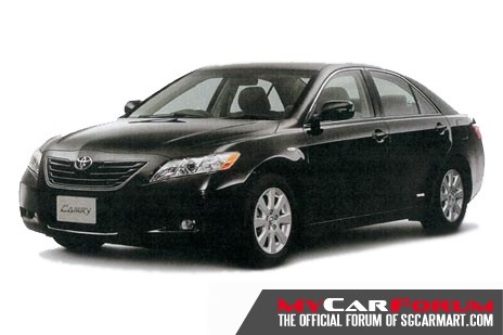 New Toyota Camry 2.0 (For Rent)