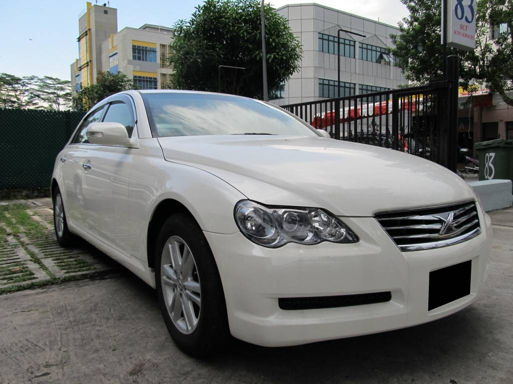 Toyota Mark X 2.5A (For Rent)