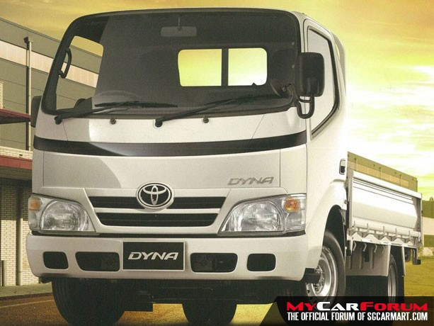 10FT Toyota Dyna (Open Top) (For Rent)