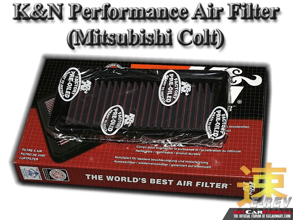 Mitsubishi Colt K&N Performance Air Filter