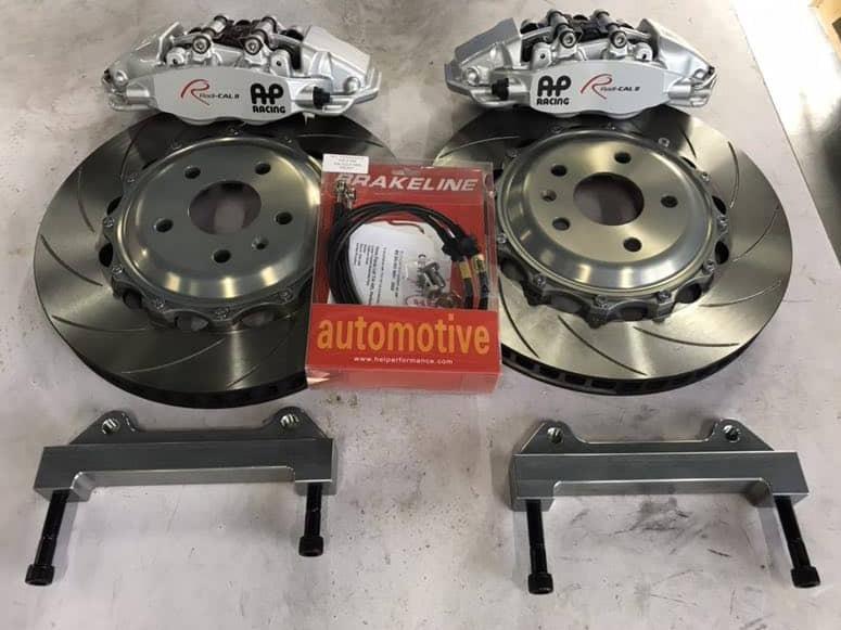 AP Racing Radical Ver.2 CP9540 4 POT Brake Kit