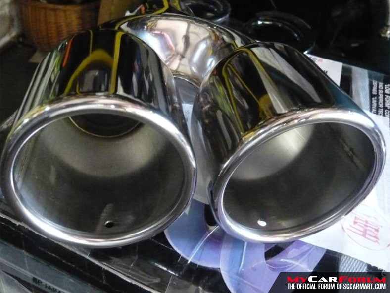 Advance BMW 320i Exhaust Tailpipe