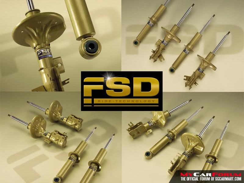 Koni FSD Shock Absorbers
