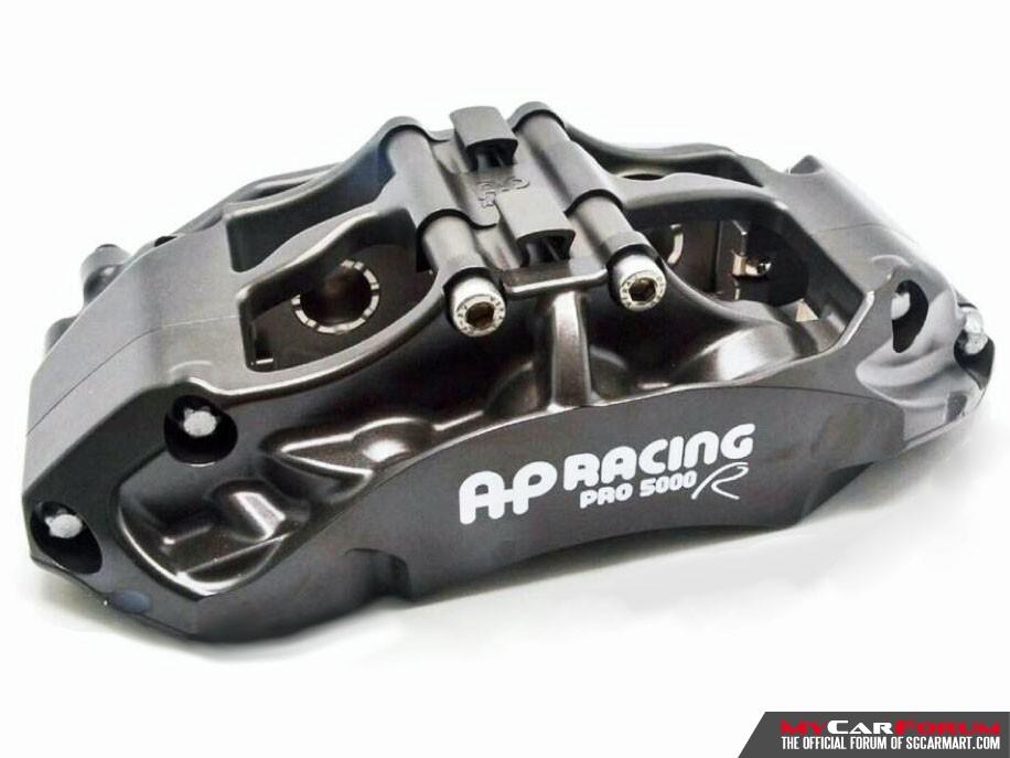 AP Racing AP9660 PRO 5000R 6-Pot 355mm / 380mm BBK Big Brake Kit