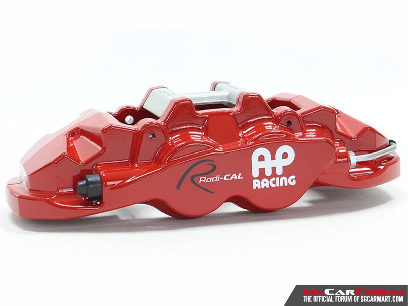 AP Racing CP8530 Big 4 Pot Red / Black Brake Caliper