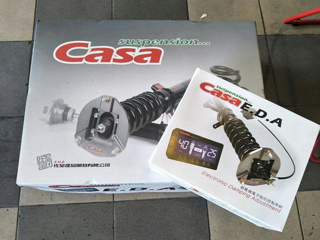 Casa Electronic Damping Adjustment