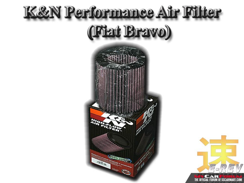 Fiat Bravo K&N Air Filter