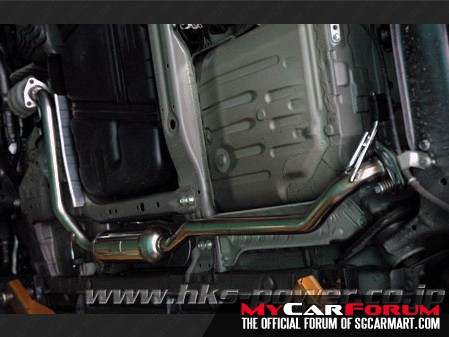 HKS Honda Fit / Jazz Exhaust System Center Pipe