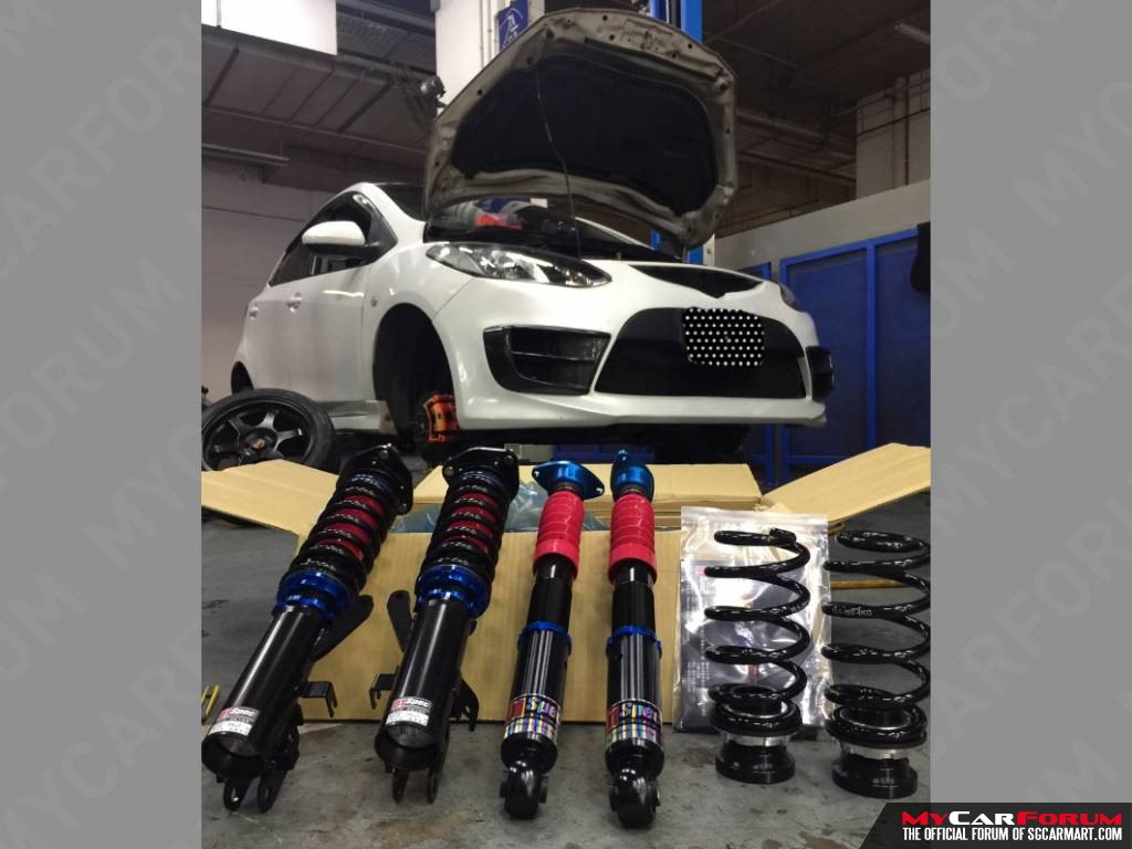 D1 Spec IOS Certified Racing/Comfort Suspension Systems