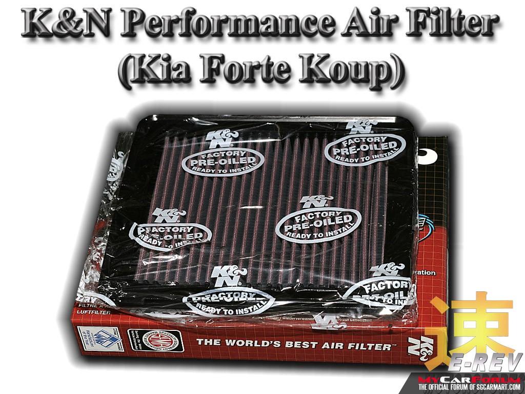 Kia Cerato Forte Koup K & N Performance Air Filter