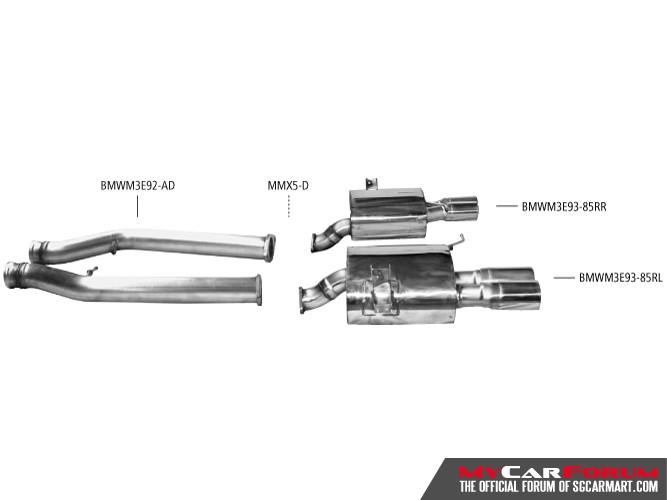 Bastuck BMW M Series M3 Sports Exhausts