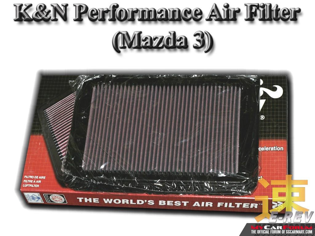 Mazda 3 K&N Performance Air Filter