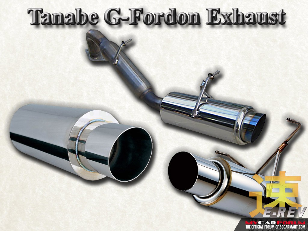Tanabe Exhaust System