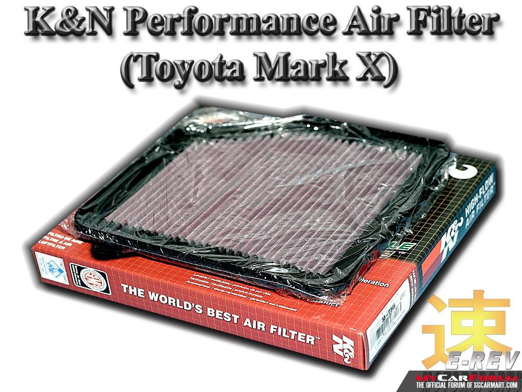 Toyota Mark X K&N Performance Air Filter