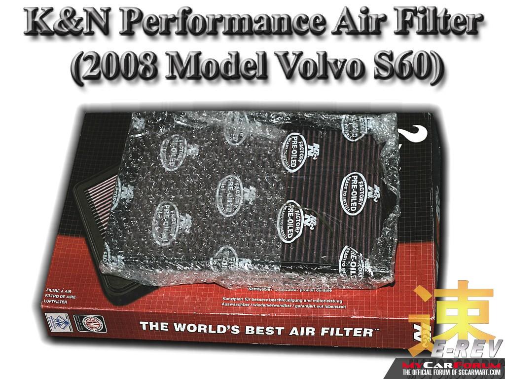 Volvo S60 K&N Air Filter