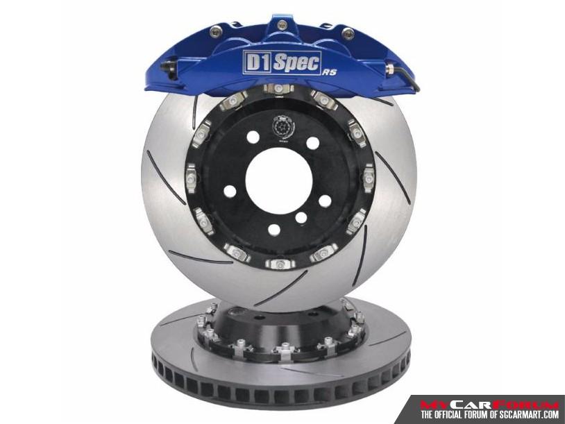D1 SPEC RS Series Big 6 Pistons Brake Kit System (355mm)