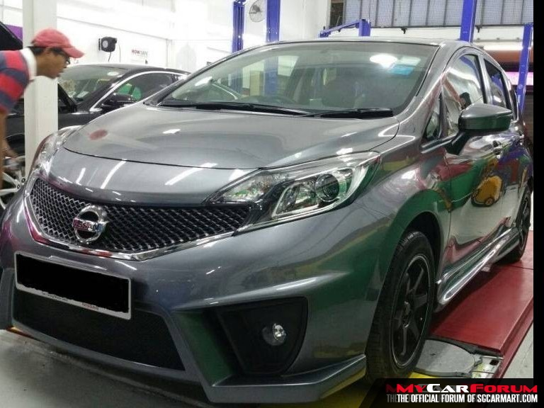 Custom Bodykit (Nissan Note) For Sale | MCF Marketplace