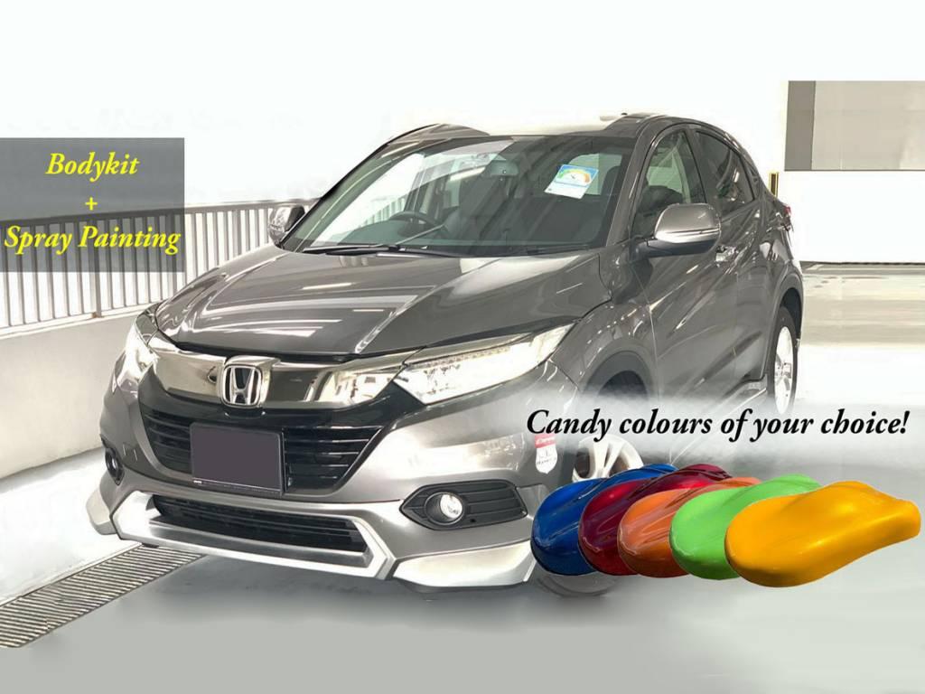 Vezel MG 2019 Bodykit & Candy Spray Promotion Package