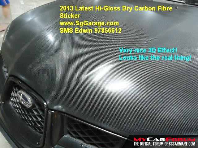 enter your message eg hi gloss dry carbon fibre sticker for bonnet from 90 110