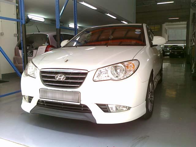 Complete Bodykit For Hyundai Avante