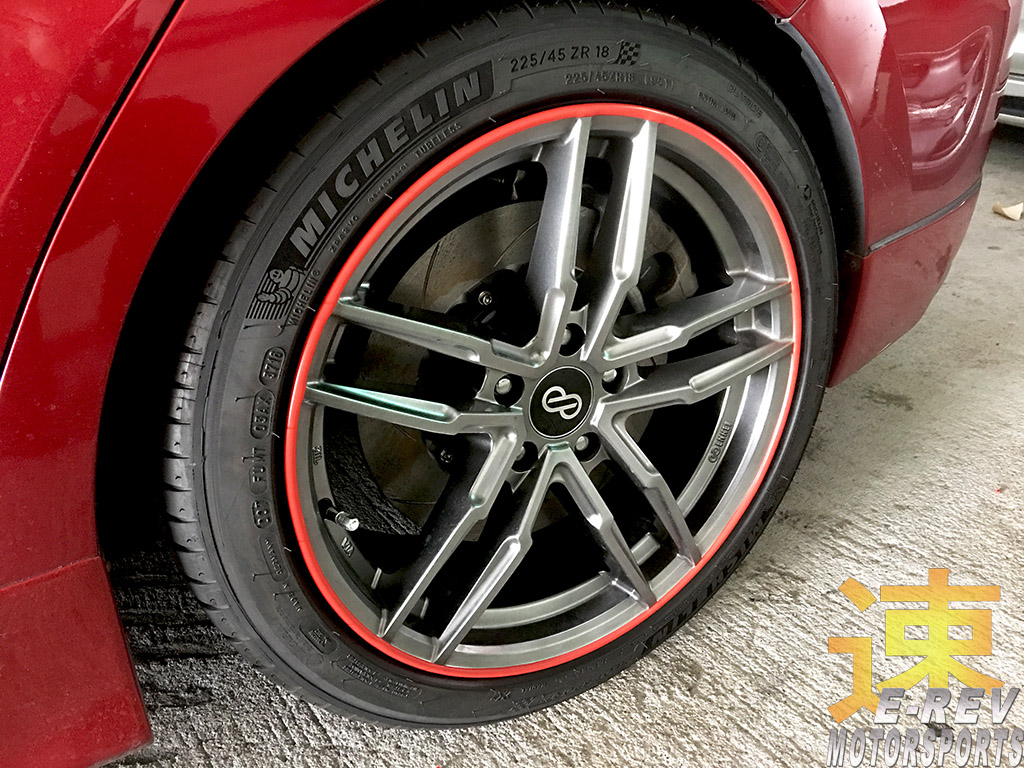 Mazda 3 Rims Protector