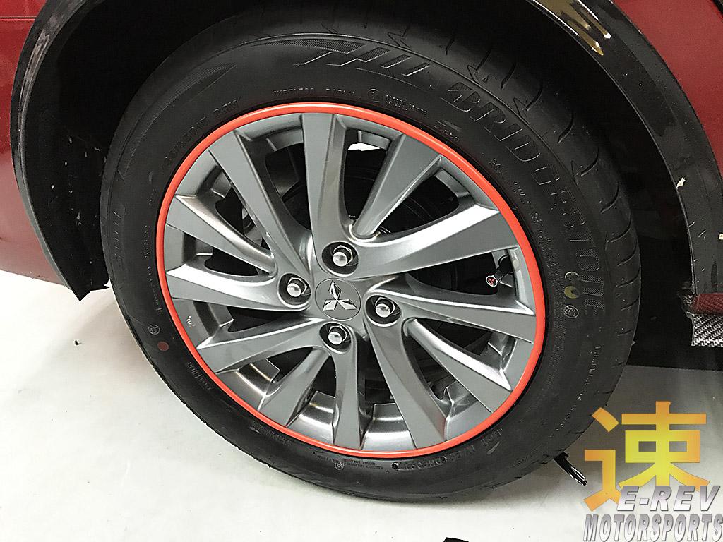 Mitsubishi Attrage Rims Protector